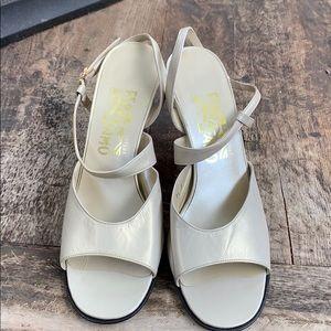 Salvatore Ferragamo never worn sandals size 7.5